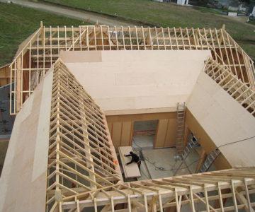 charpente maison ossature bois