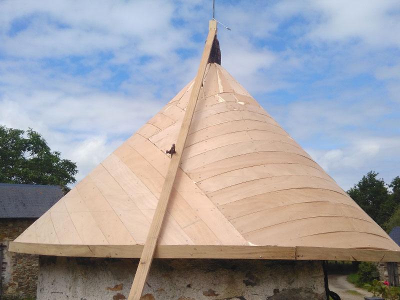 charpente tourelle rénovation