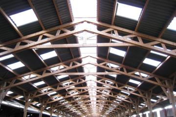 Charpente hangar agricole