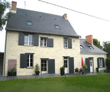 rénovation toiture et menuiserie maison ancienne